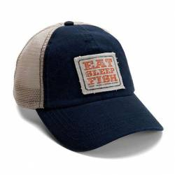 Loop - Eat Sleep Fish Cap Navy-Tan